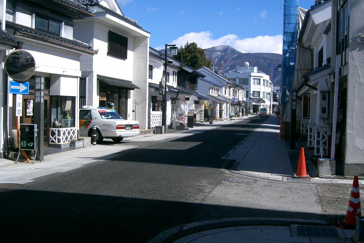 松本市内の様子