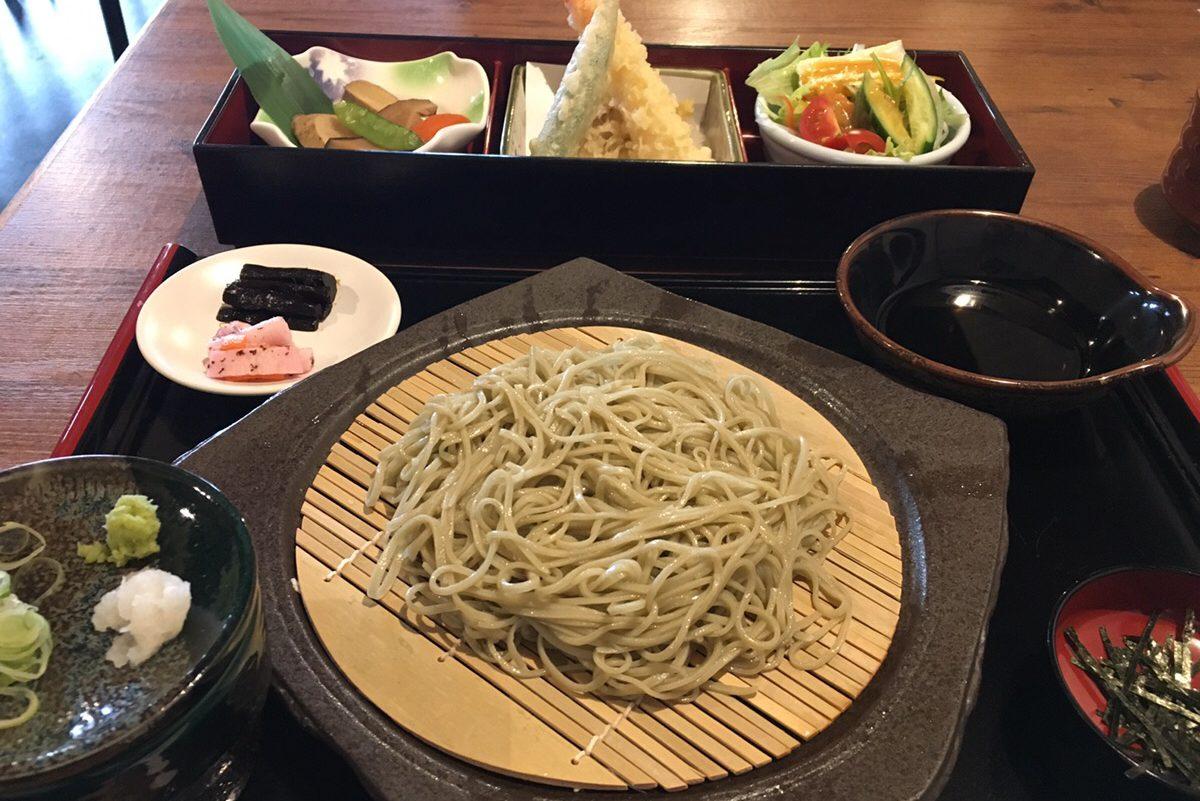 石碾き蕎麦 水舎 松本今町店の蕎麦御膳