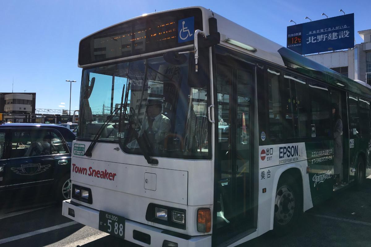 松本周遊バス「タウンスニーカー」