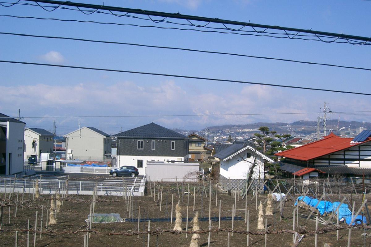 松本民芸館から見える景色