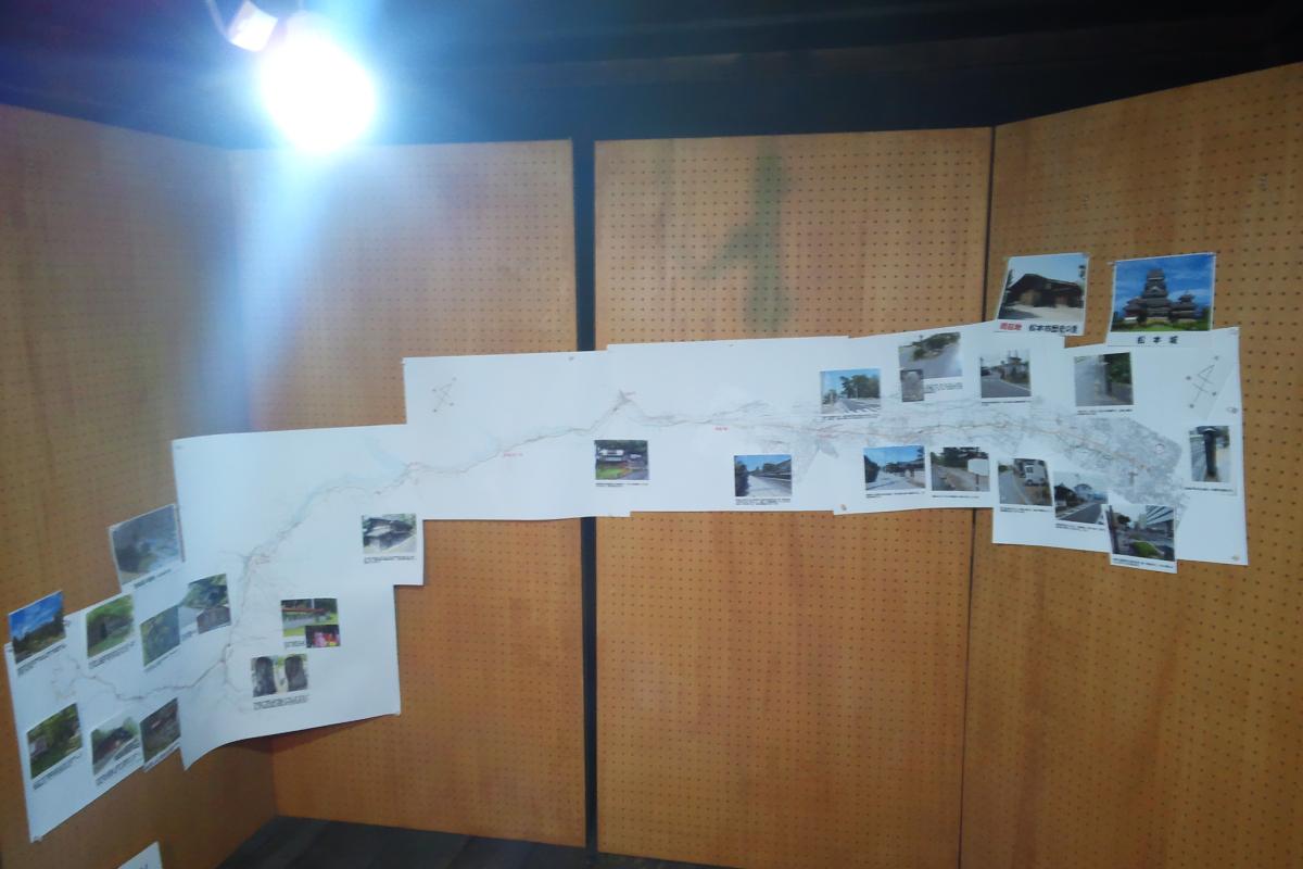 松本市歴史の里内の工女宿宝来屋