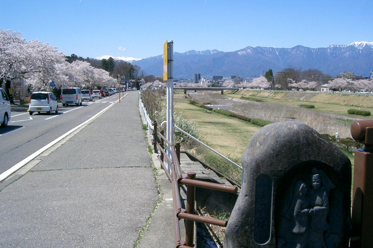 薄川(見晴らし橋)