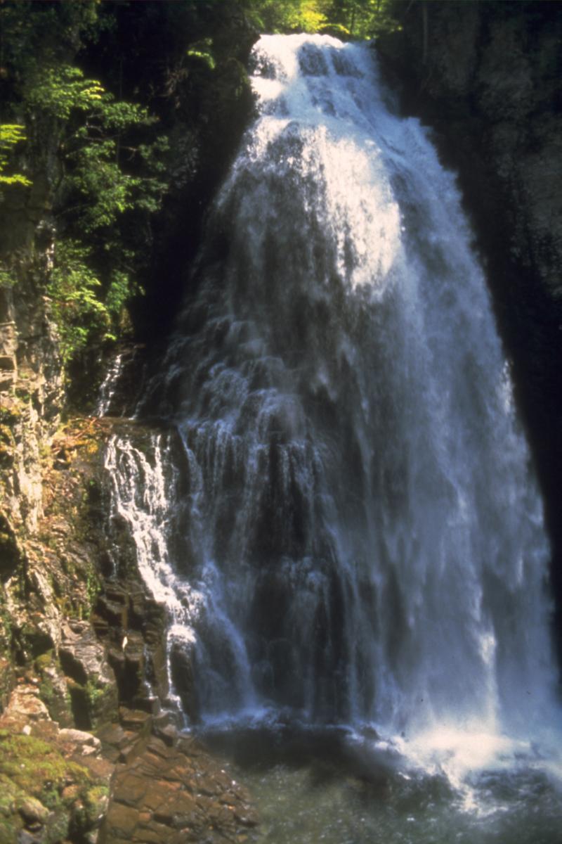 乗鞍高原の番所大滝