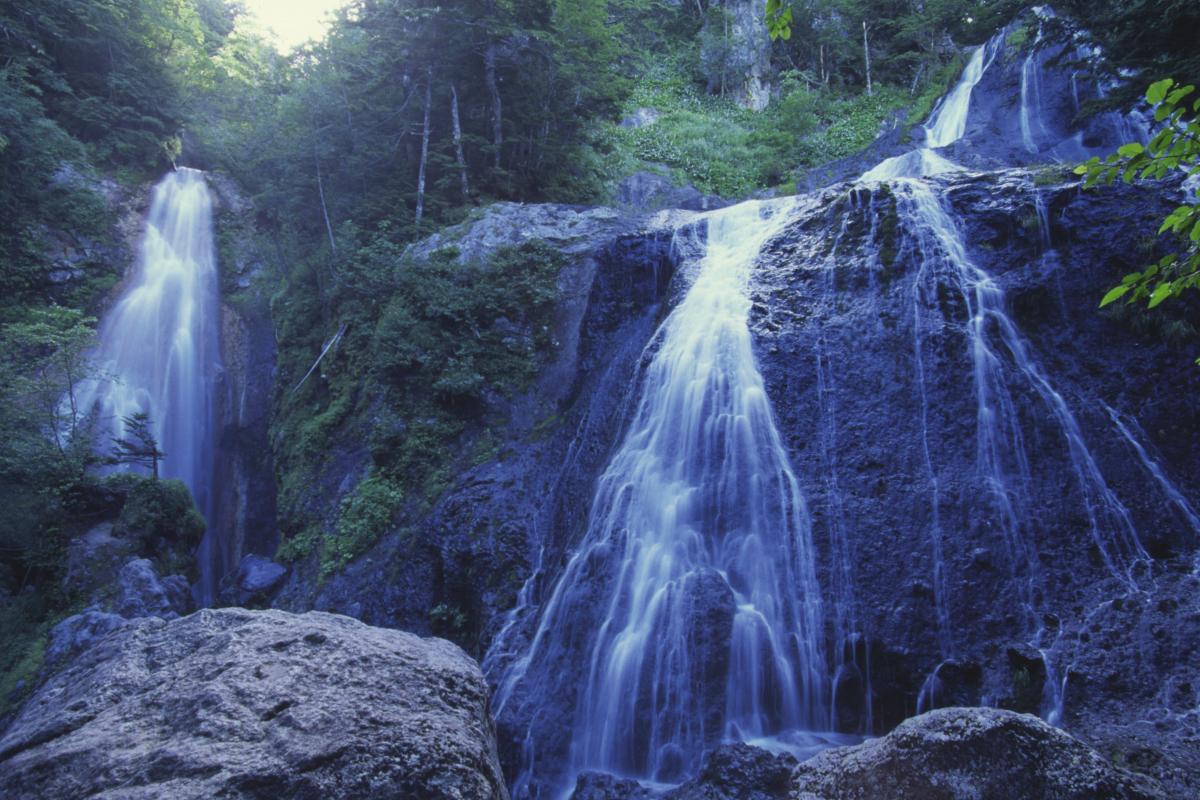 乗鞍高原の三本滝