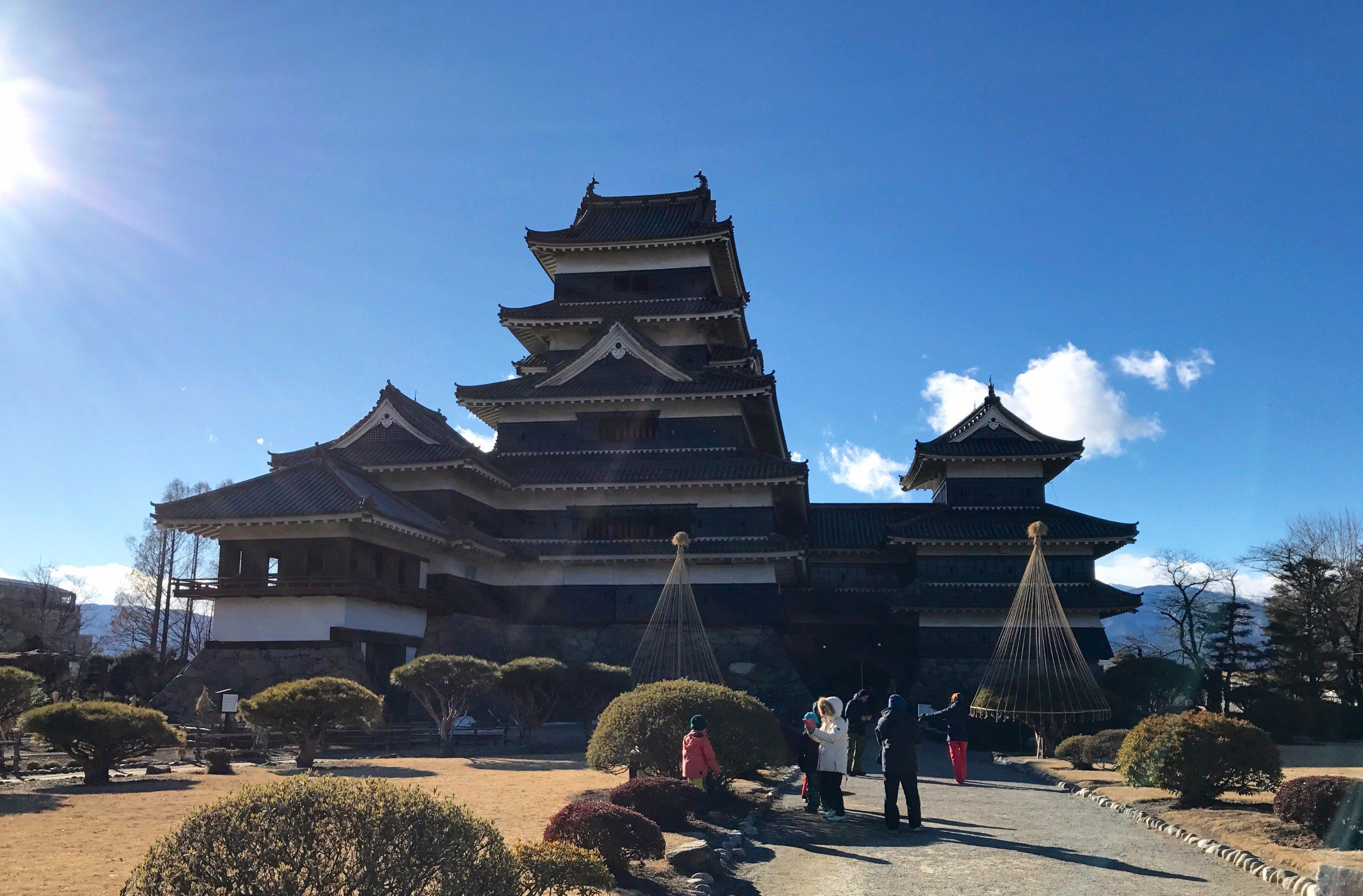 松本城,冬,観光